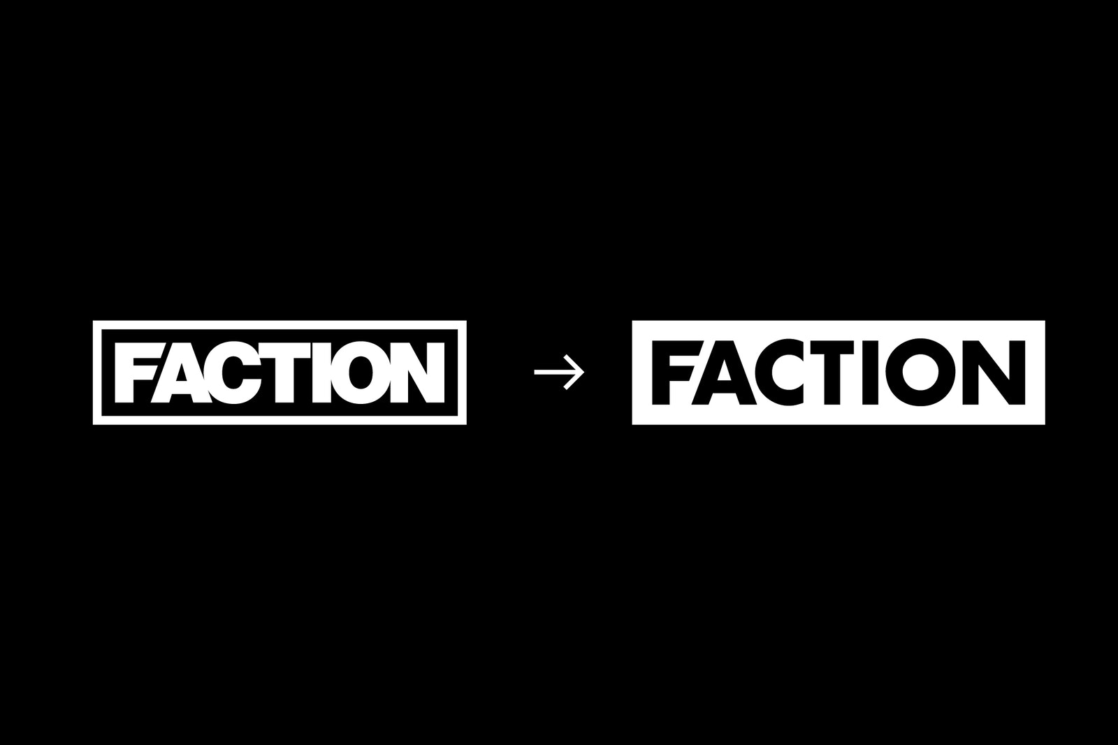 MASTER CS FACTION Logo Evolution